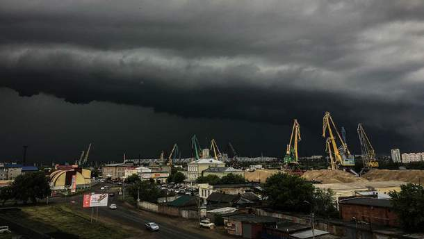 Стихійне лихо в російському місті Омск