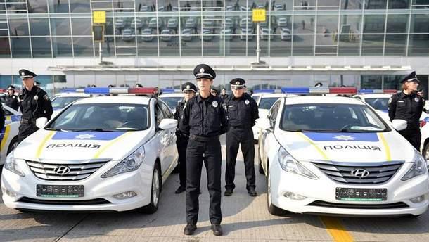 Полиция на Hyundai
