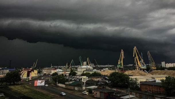 Стихийное бедствие в российском городе Омск