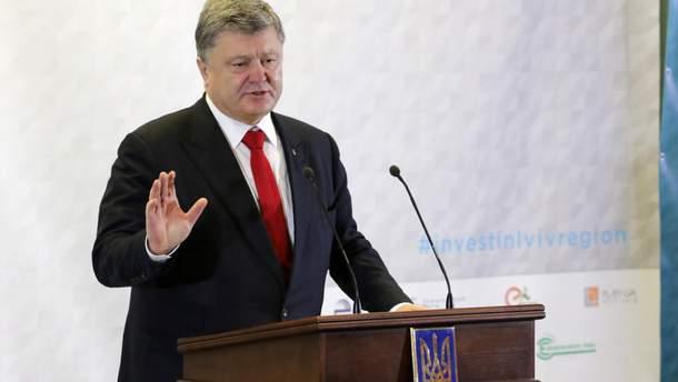 Петро Порошенко про безвіз
