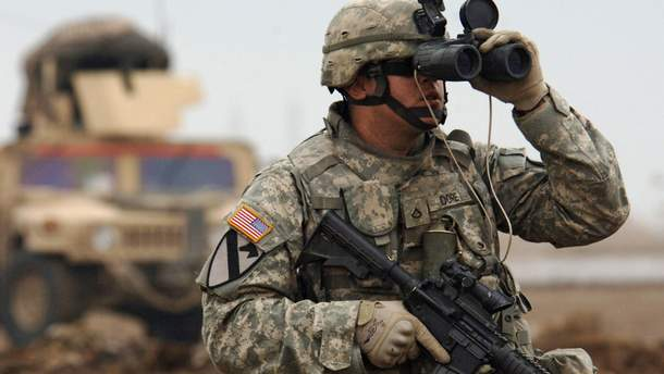 Солдат армии США
