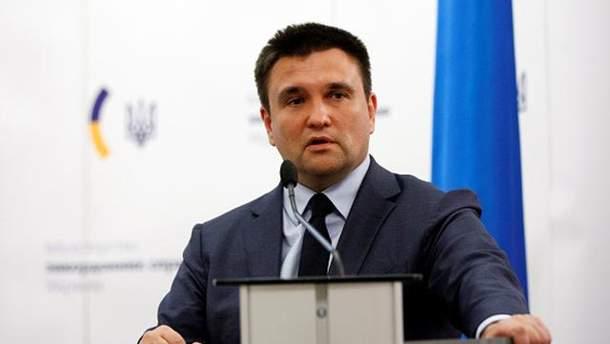 Безвізовий режим України з ЄС не слід використовувати для роботи, закликав Клімкін