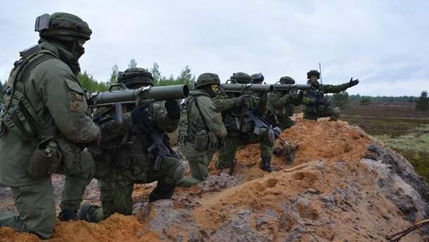 """В Литве стартуют  международные учения """"Железный волк"""""""