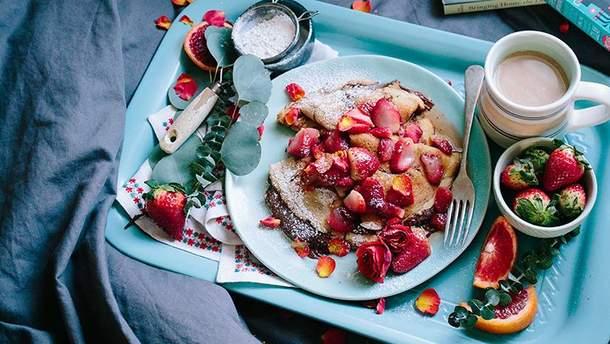 Полуниця на сніданок