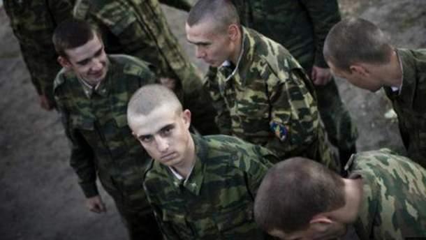 Российские военные подрались на границе с Украиной