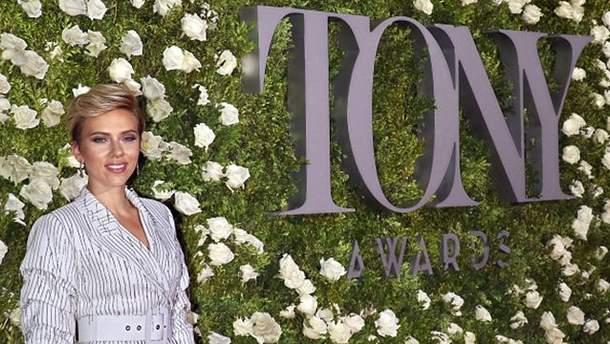 Скарлетт Йоханссон на Tony Awards