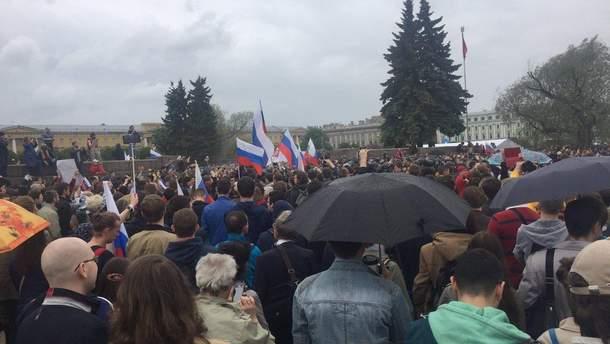 Митинги в России 2017: в Петербурге более 150 задержанных