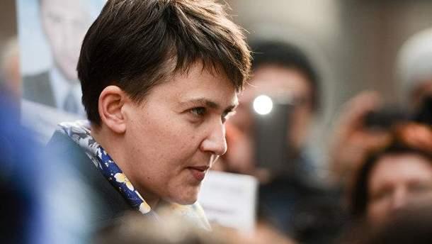 Надежда Савченко рассказала о своем отношении к русскому языку