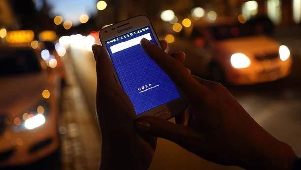 Uber в Украине поднял тарифы