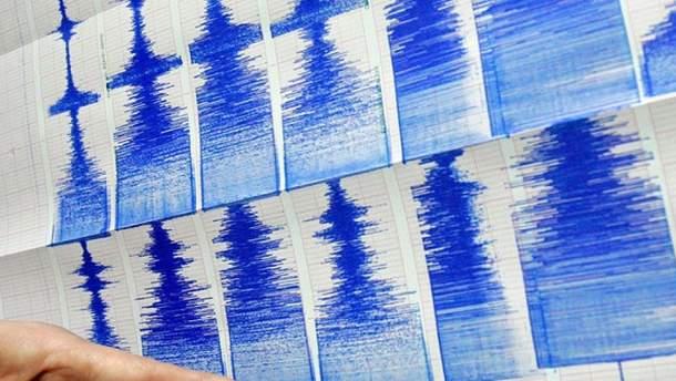 В Эгейском море землетрясение