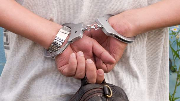 Задержали преступников
