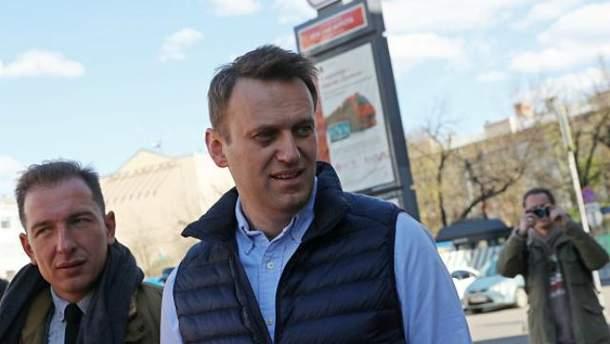 Олексія Навального арештували на 30 діб