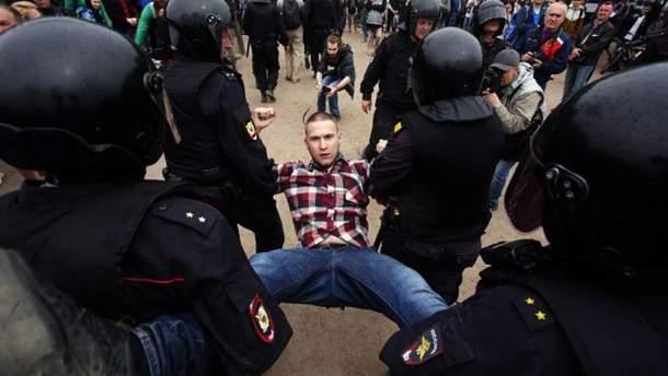 Антикоррупционные митинги в России