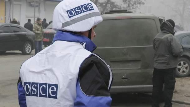 Боевики пытались сбить беспилотник ОБСЕ