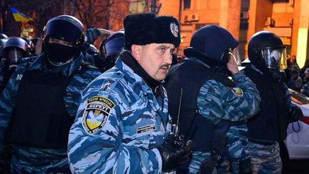 """Экс-""""беркутовец"""" работает теперь на российский ОМОН"""