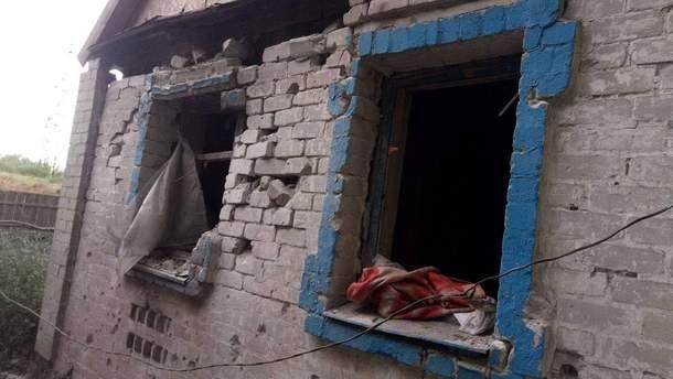 Авдеевка после танкового обстрела штаб АТО показал масштабы разрушений