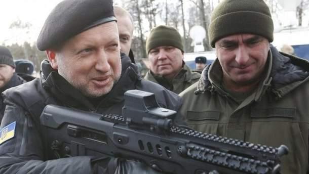 Турчинов предлагает отказаться от АТО