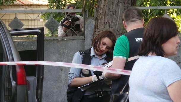 Место нападения на Адама Осмаева и Амину Окуеву