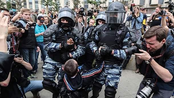 Антикоррупционный митинг в Москве