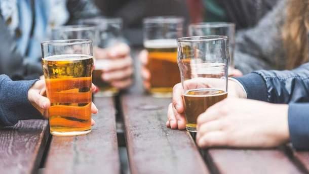 Запрет продажи алкоголя в Киеве