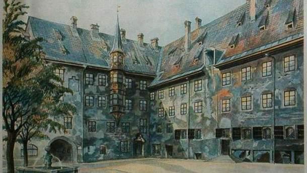 Одна из картин Адольфа Гитлера