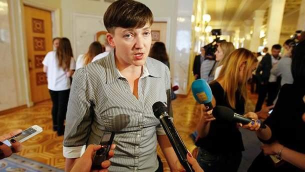 """Савченко побывала на суде по """"газовому делу"""""""