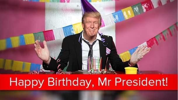 14 июня Дональд Трамп празднует день рождения