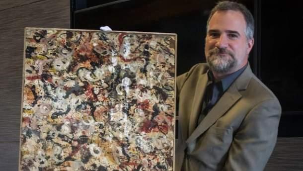 У США знайшли загублену картину Поллока