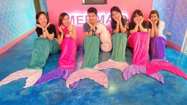 Mermaid Island Cafе
