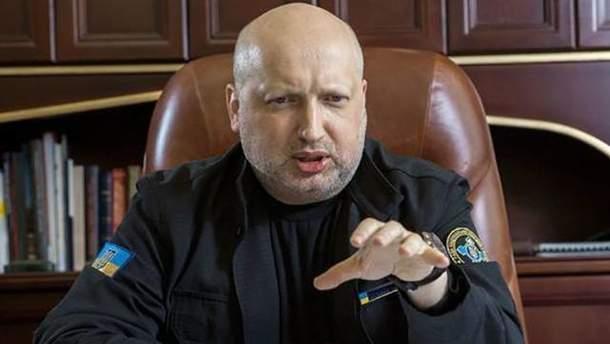 Альтернативу визовому режиму Украины с Россией предложил Турчинов