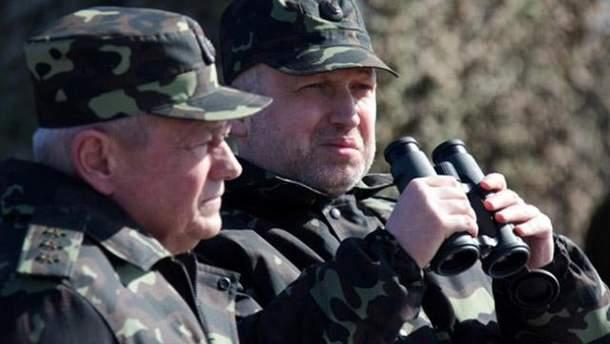 Турчинов рассказал, что сейчас больше всего беспокоит СНБО