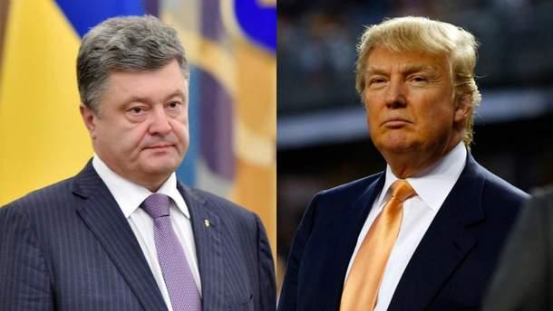 Трамп с Порошенко могут иметь серьезный разговор во время встречи