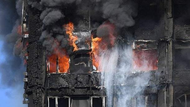 Жахлива пожежа у житловому будинку Лондона забрала вже 12 життів