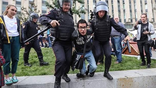 Мітинги проти корупції в Росії вдарили по системі Путіна