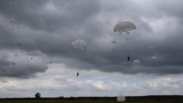 Десантирования украинских бойцов