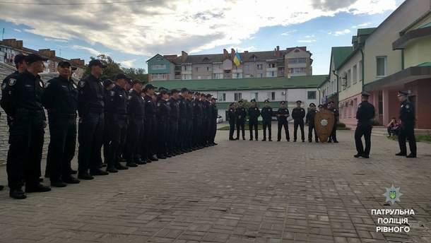 Поліцейські Рівного