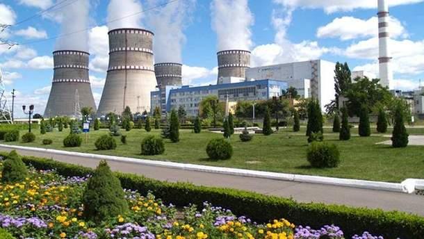 Ровенская АЭС отключила один энергоблок