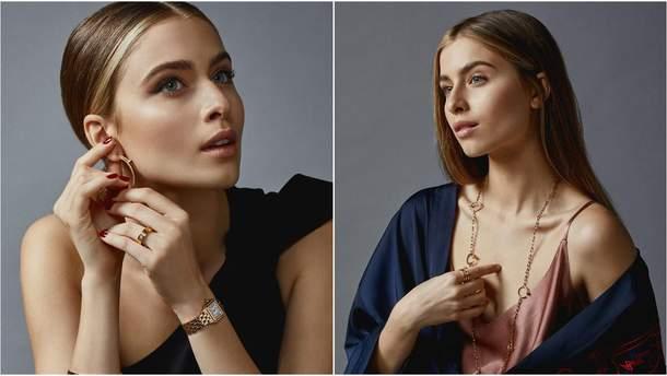 Соня Євдокименко у фотосесії для російського журналу