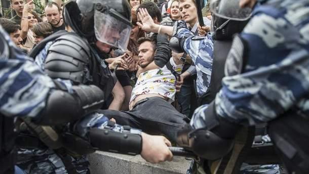 Антикорупційний мітинг в Росії 12 червня 2017 року