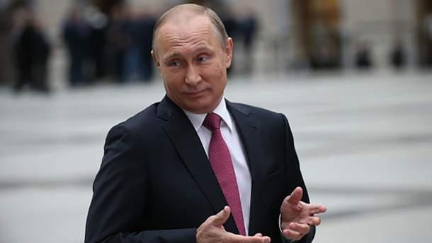 Хитрий Володимир Путін