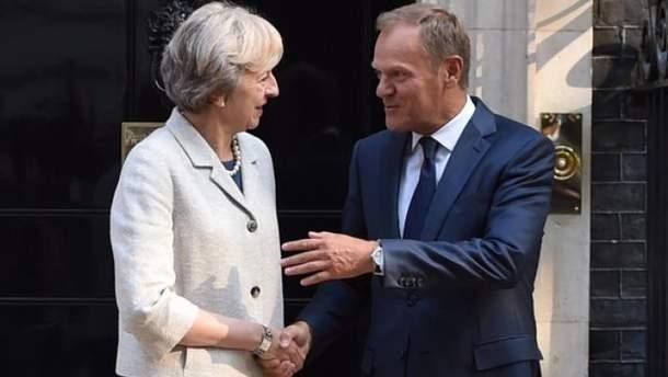 Дональд Туск наполягає на швидкому проведенні переговорів щодо Brexit