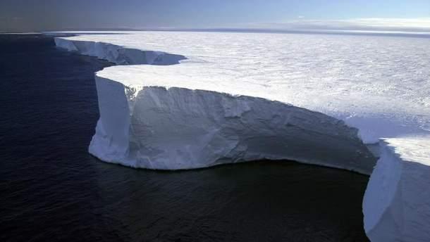 В Антарктиді розтанув ще один величезний льодовик Росса
