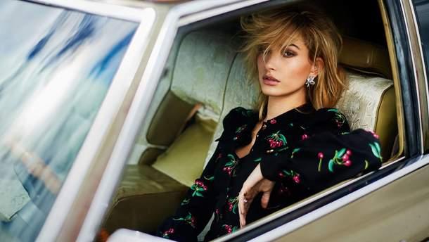 Хейли Болдуин в фотосессии для журнала Elle