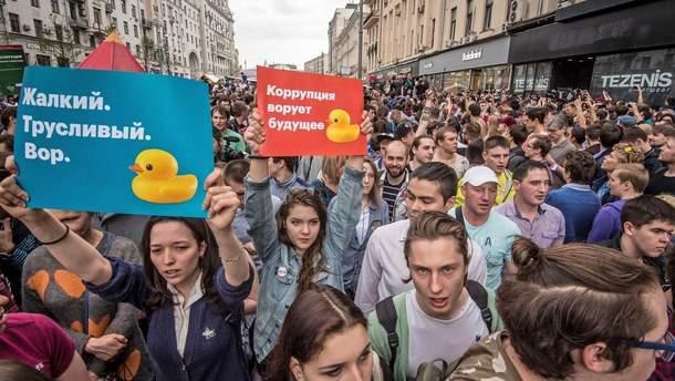 Сенат США усилением санкций поддержал протестное движение в РФ