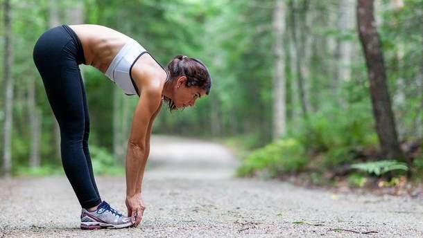У спеку краще робити тренування легшими