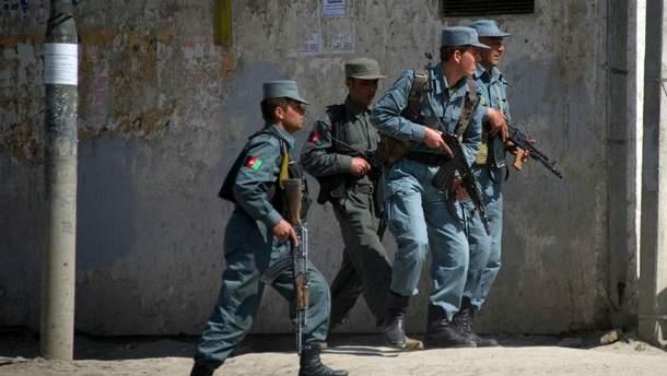 Полиция Афганистана (Иллюстрация)