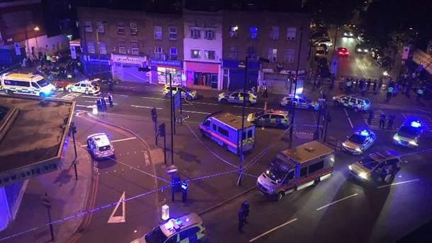Аварія у Лондоні
