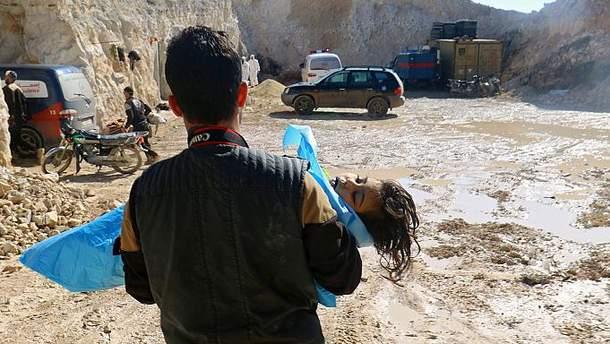 Наслідки хімічних атак у Сирії
