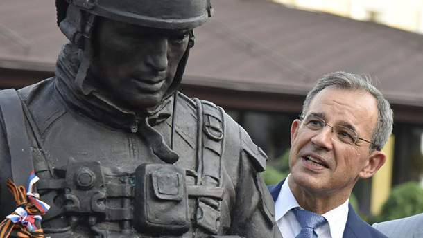 Тьерри Мариани в аннексированном Крыму