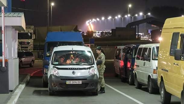 Більшість українців у рамках безвізу перетинають автомобільні пункти пропуску з Польщею та Угорщиною